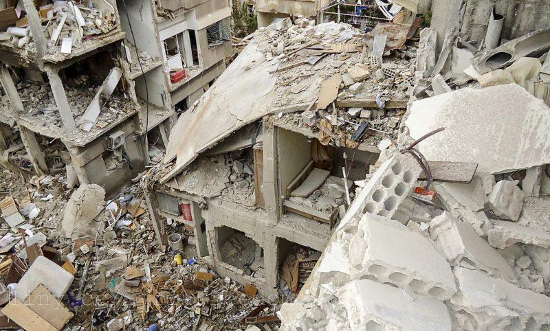 Danni della guerra in Siria