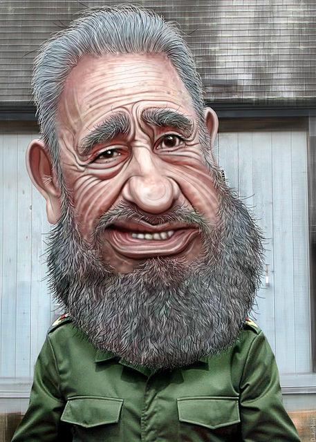 Castro caricature