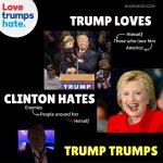 #LoveTrumpsHate: Trump vince l'odio