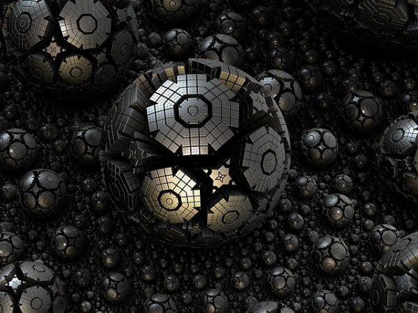 3d complexity: fractal spheres