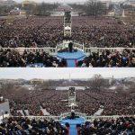 Contare la folla: inganni giornalistici, errori di Trump
